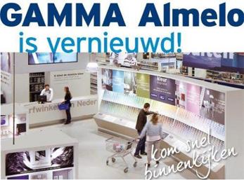 Gamma Bouwmarkten Almelo vernieuwd