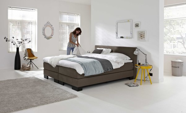 boxspring sense 120 woonboulevard almelo. Black Bedroom Furniture Sets. Home Design Ideas