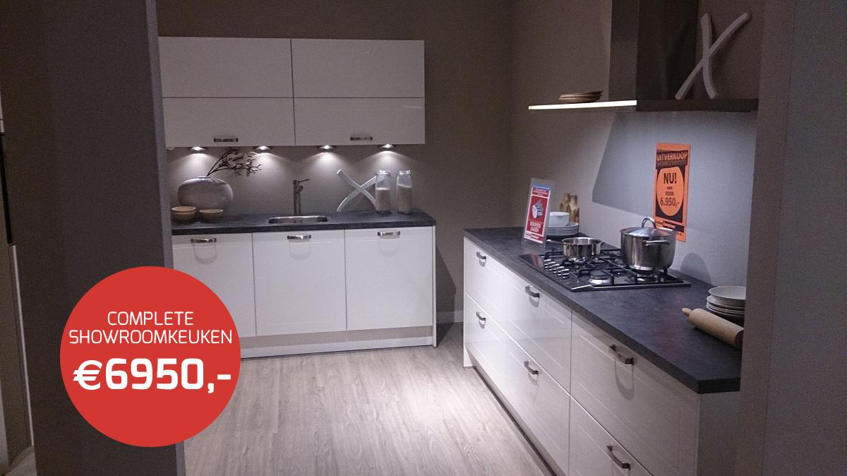 Uitverkoop showroomkeukens bij keuken kampioen woonboulevard almelo
